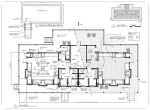 Preliminary floor plan for new cabin 3 to begin construction in fall of 2015