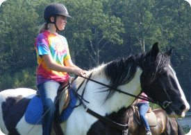 Camper riding