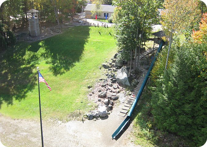 tower and slide - Garden Ranch Ymca