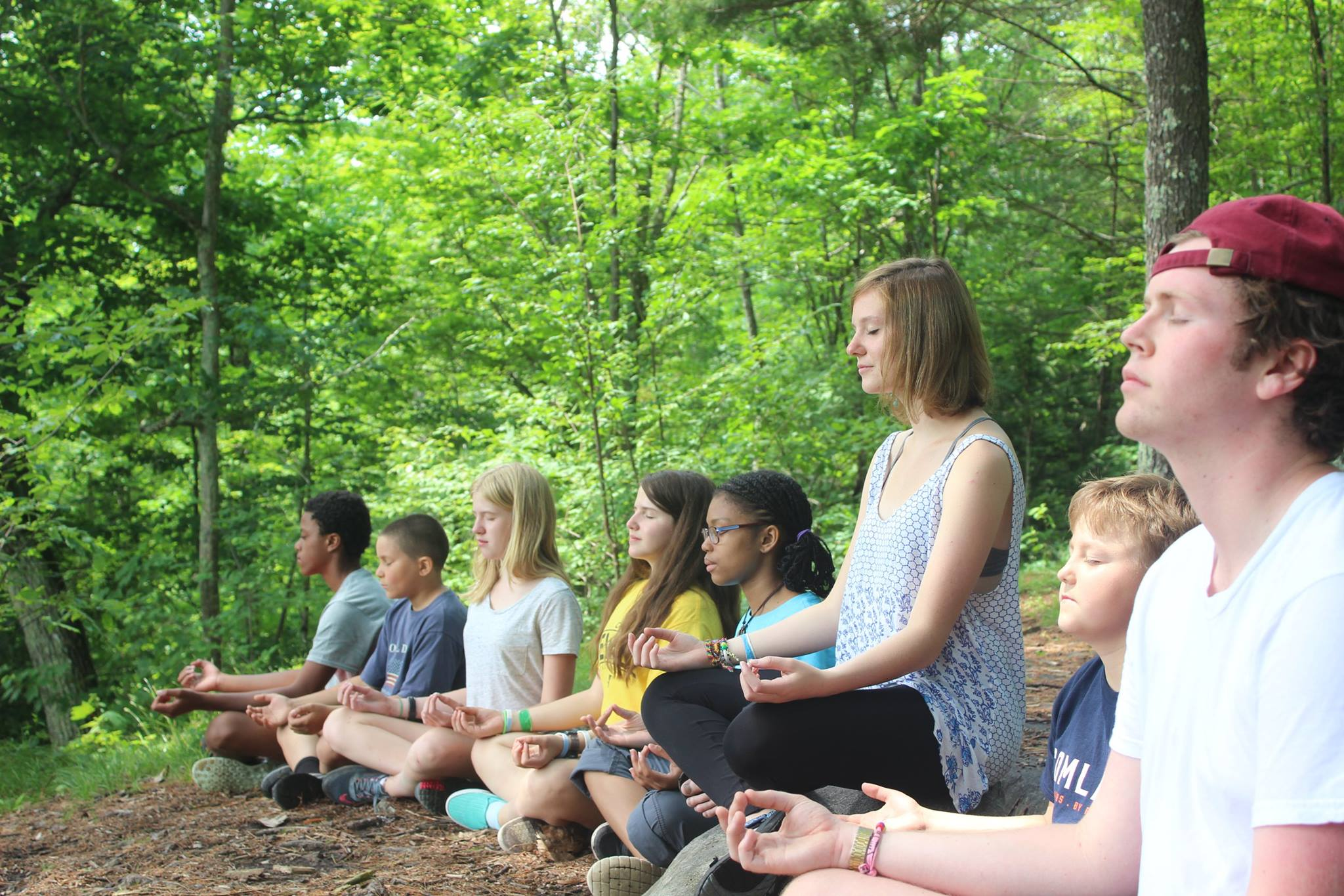 Meditating the meaning of camp! - Camp Jewell YMCA