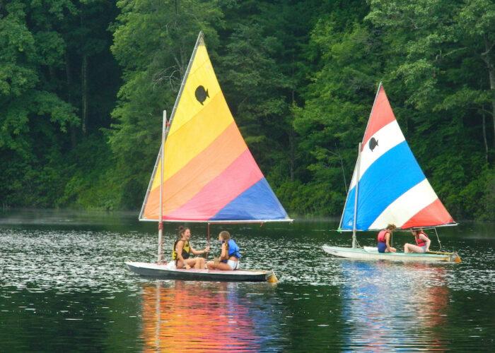 Triangle Lake Boating