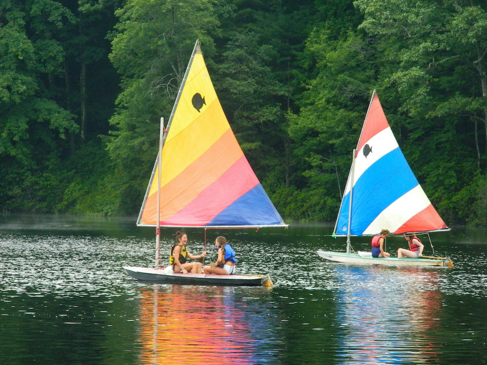 Triangle Lake Boating